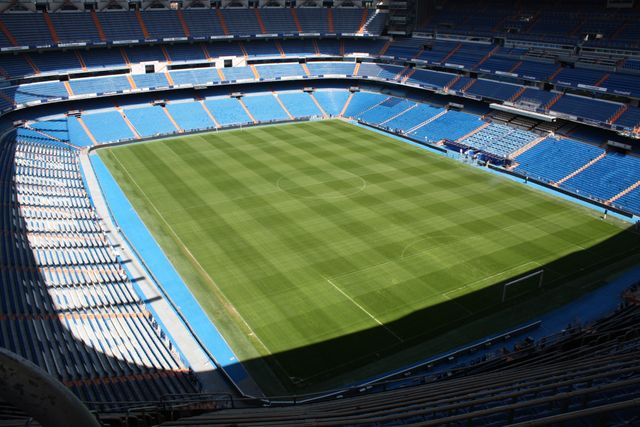 Real Madrid Soccer Stadium