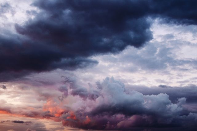 Moody Storm Clouds