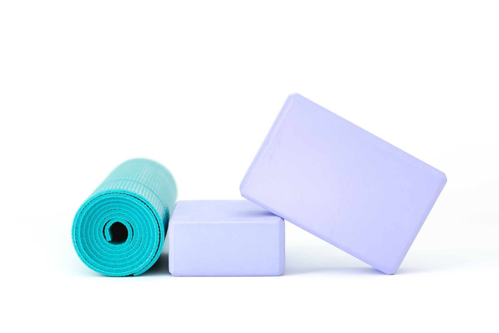 Yoga Accessories Isolated