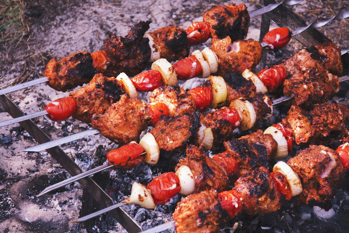 BBQ Meat Kebabs