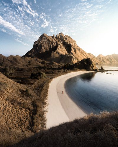 Beach And Seaside Mountains
