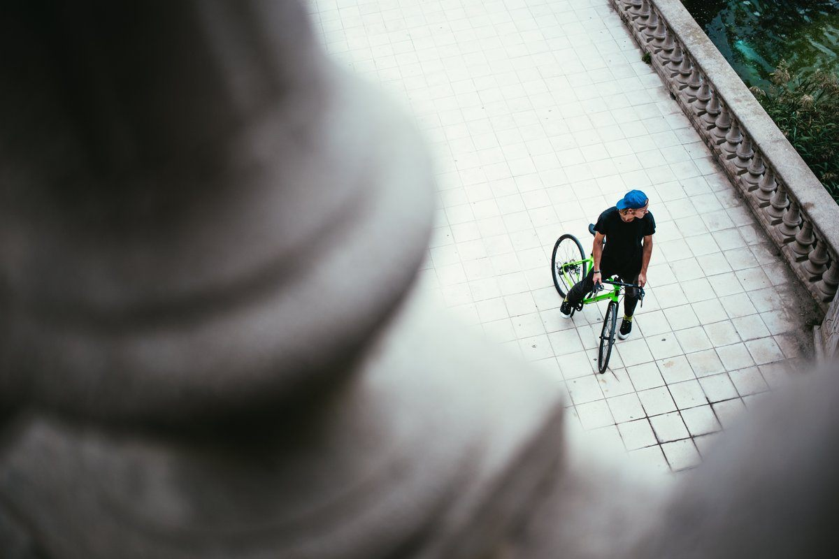 Bike From Above