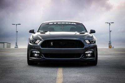 Black Shelby Car on Road