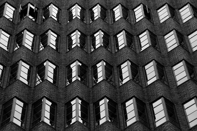 Black & White Photography of City Building
