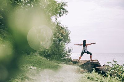 Calm Yoga By Waters Edge