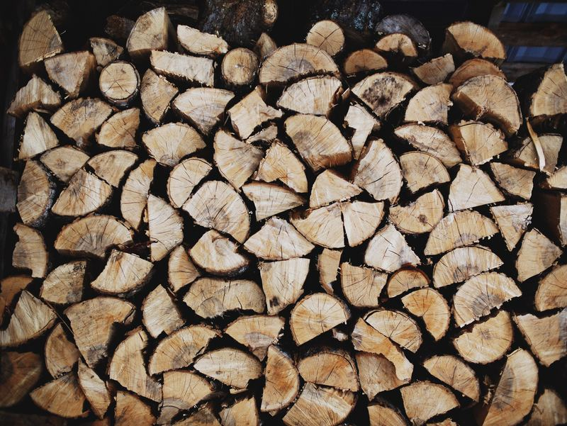 Chopped Woodpile Texture