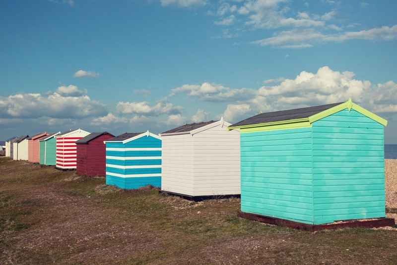 Coloured Huts