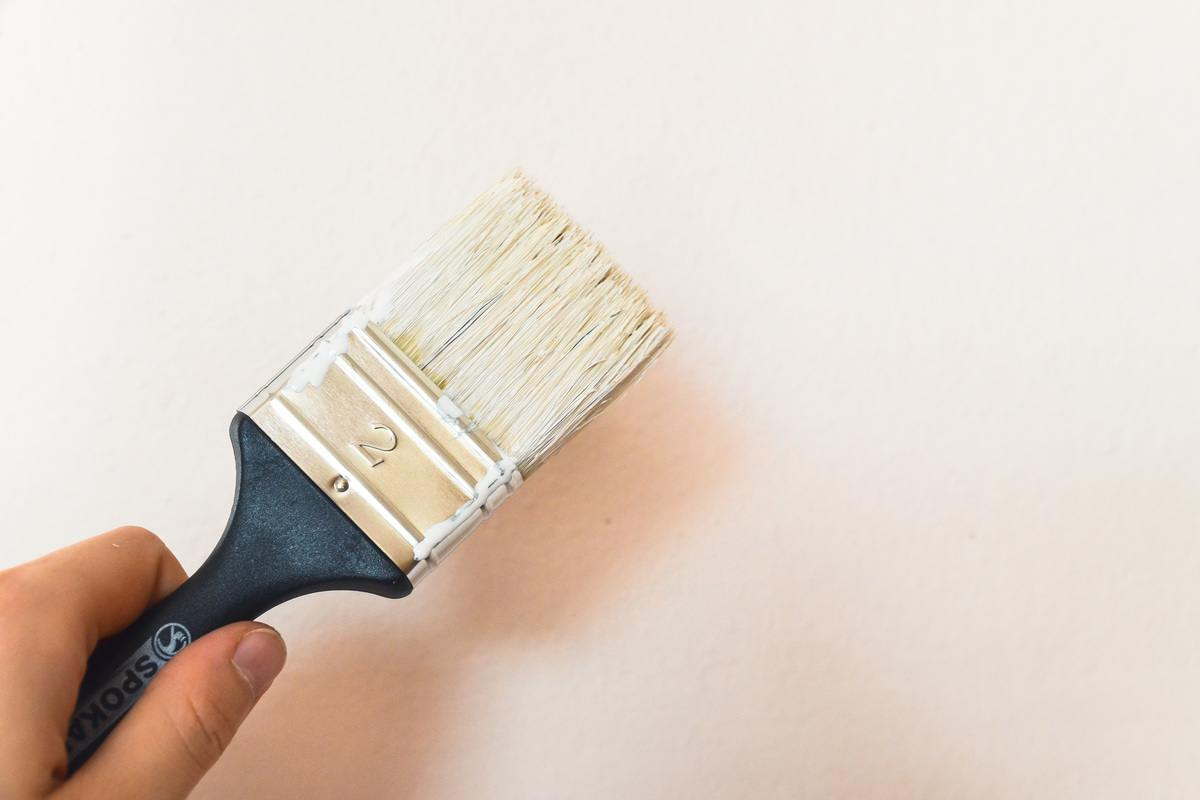 Decorating with Paint Brush