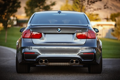 Gray Bmw Car