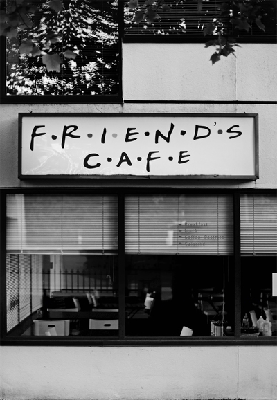 Gray Scale  Friends Cafe Store