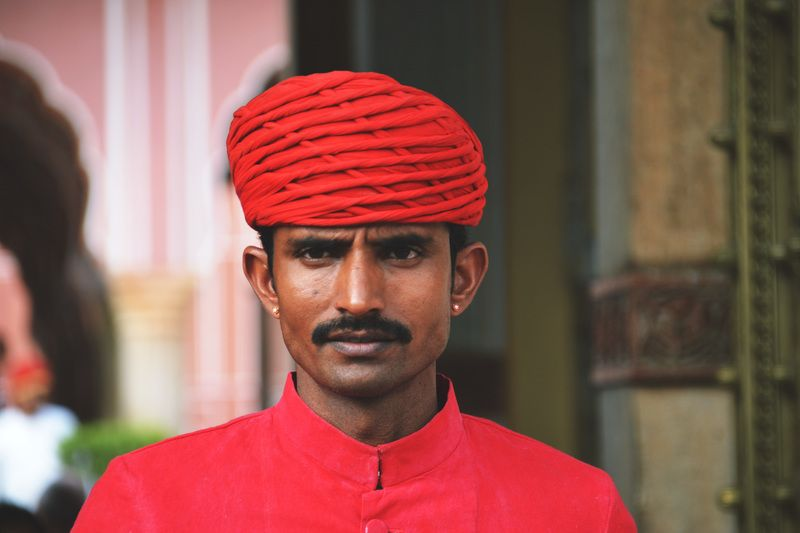 Indian with Turban