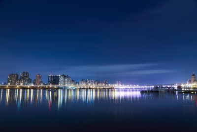 Landscape Photography of City Town Near Water