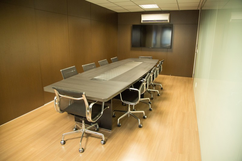 Meeting Table in Office