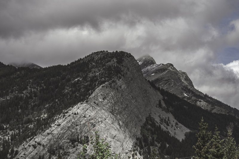 Mountains Forest And Clouds