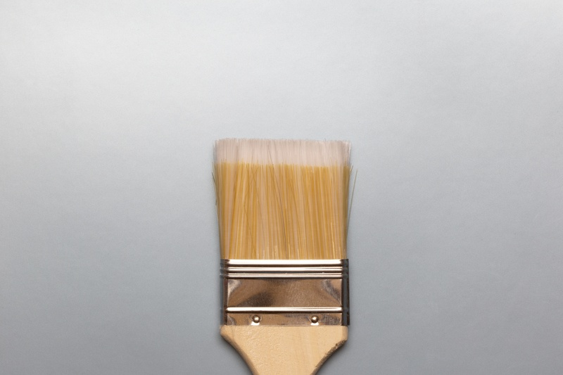 Paint Brush Top View