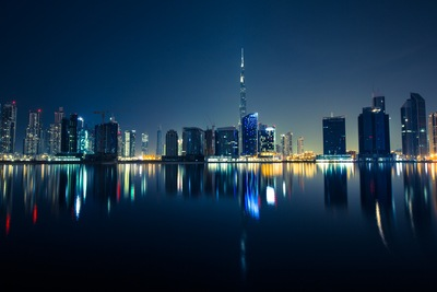 Panoramic Photography of the City at Night