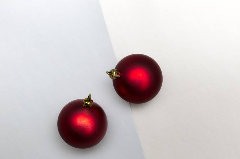 Pastel Holiday Baubles