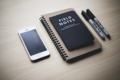 Silver Iphone 5S Near Field Notes Book