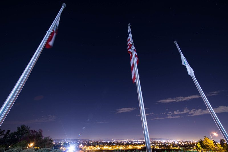 Usa Flag Pole