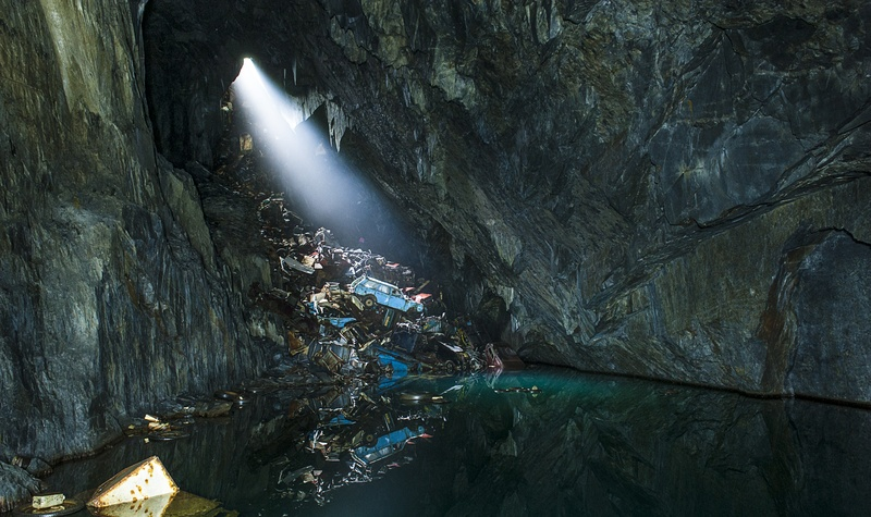 Water in Cave