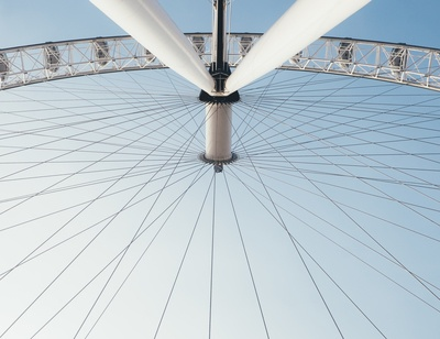 White And Black Ferris Wheel During Day