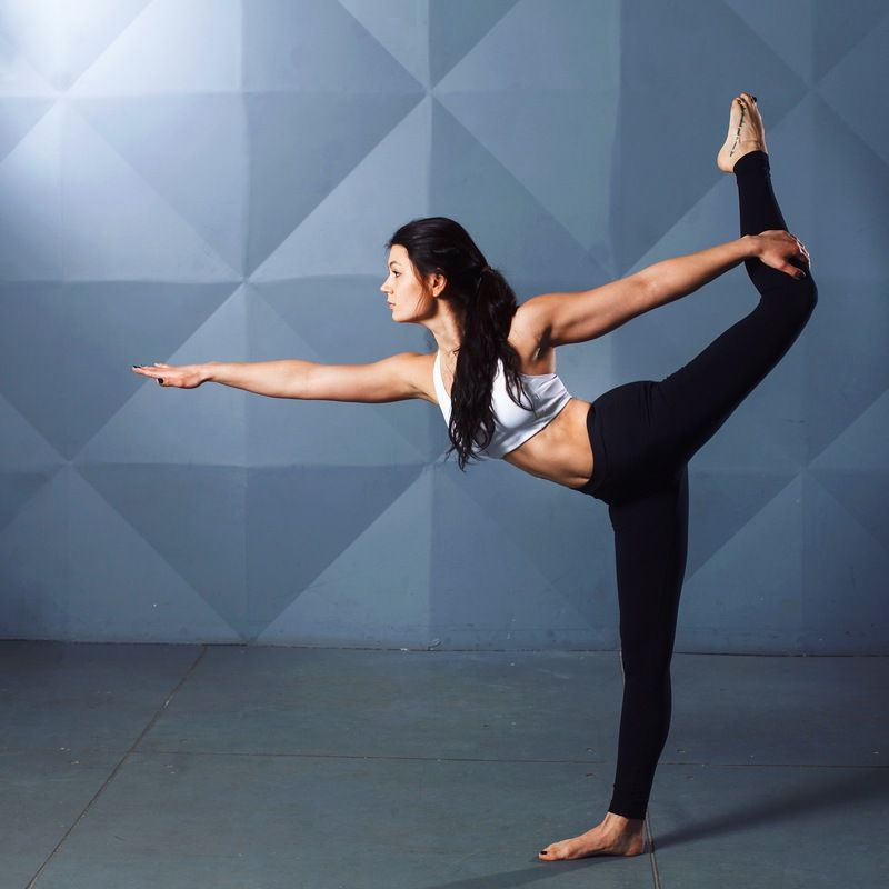 Woman Stretching Photo