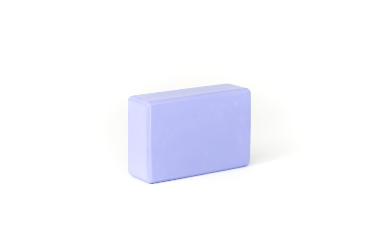 Yoga Block Isolated