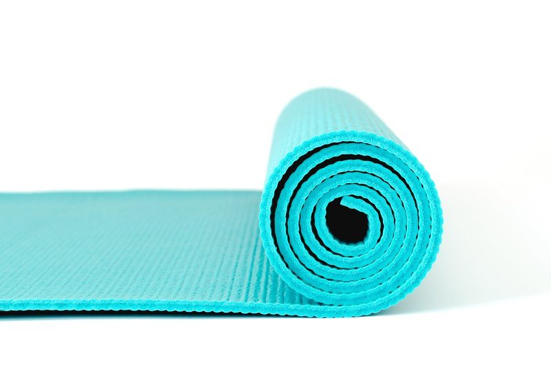 Yoga Mat Side Profile.
