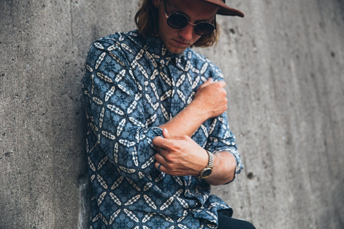 Young Man In Bright Fashion