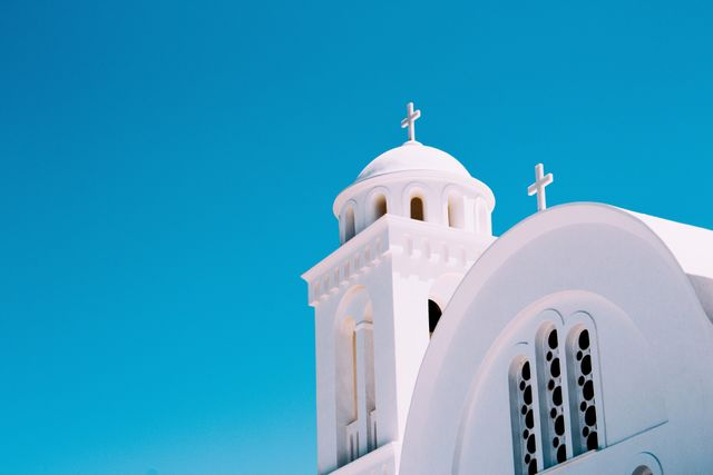 White Church in Greece