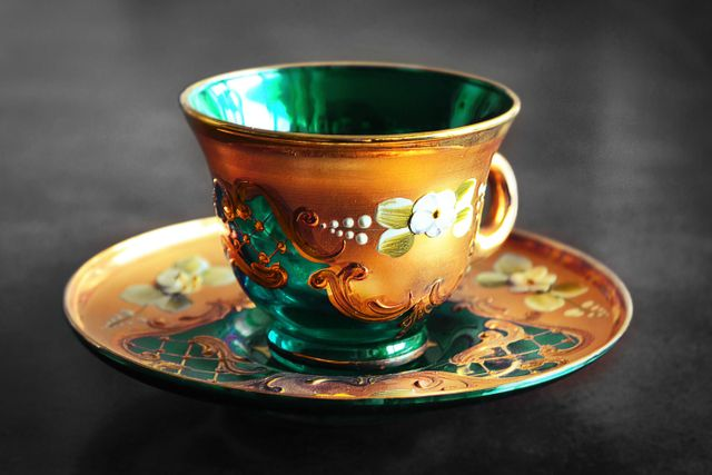 Ornamental Tea Cup